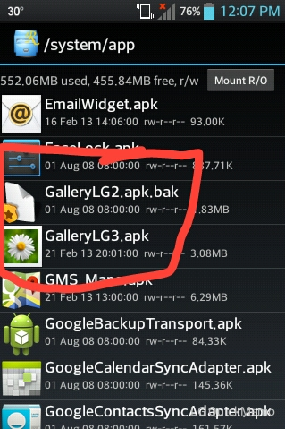 Messaging, Gallery APK from LG Optimus G - LG Motion 4G   Android Forums