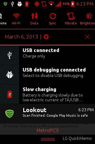 Black and Red SystemUI, LGPhone apk & LGUSMms apk - LG