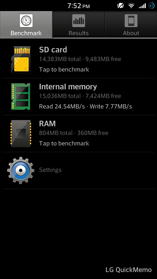 SD hack for storage expansion - LG Optimus F6 | Android Forums