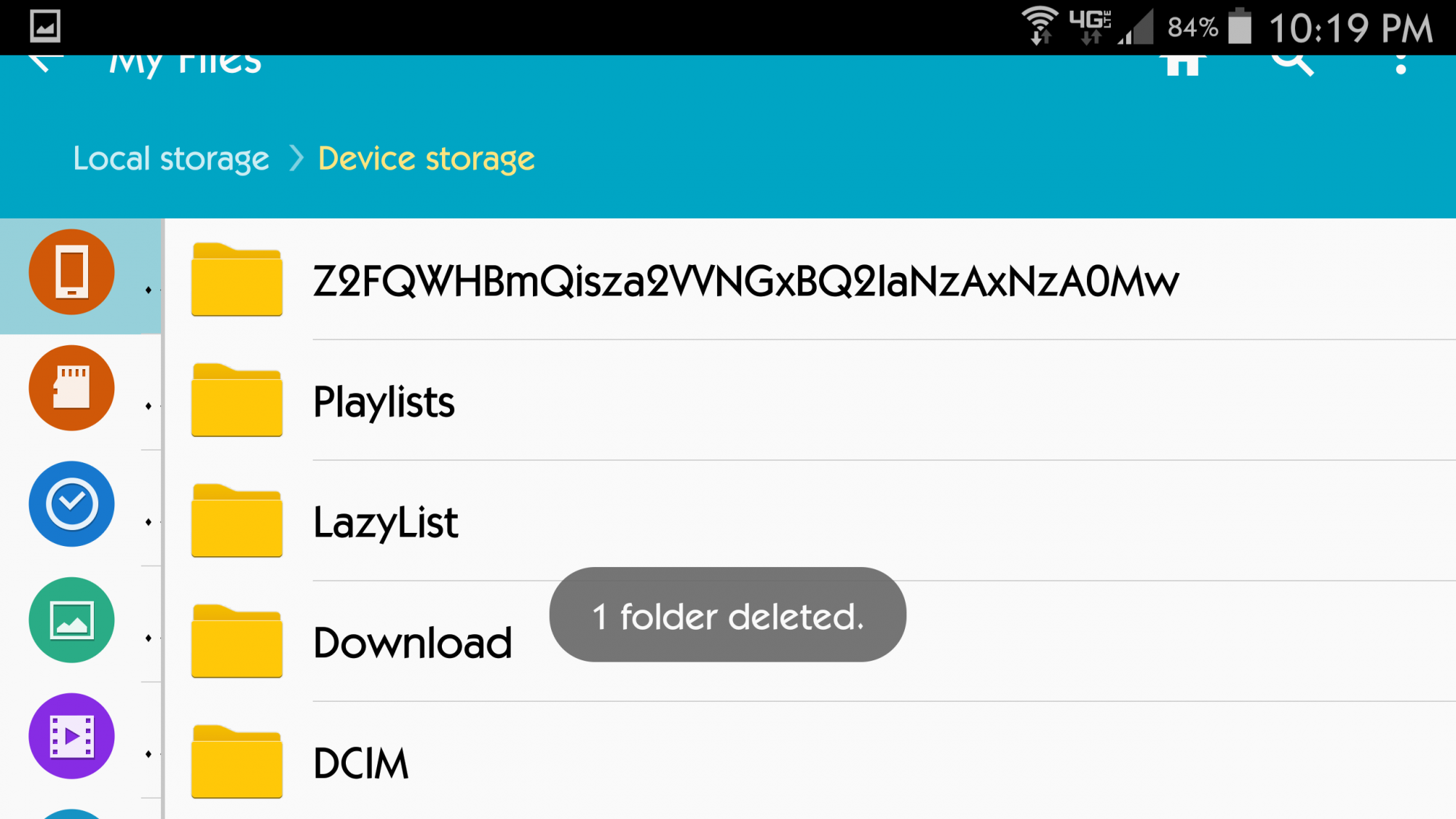 Folder Will Not Delete Samsung Galaxy Note 4 Android Forums