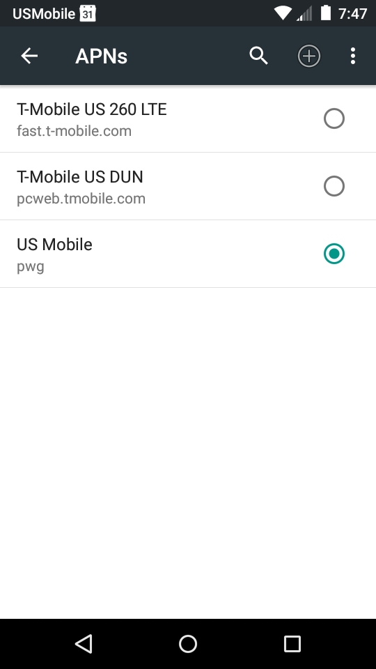 Question about APN settings - they change automatically