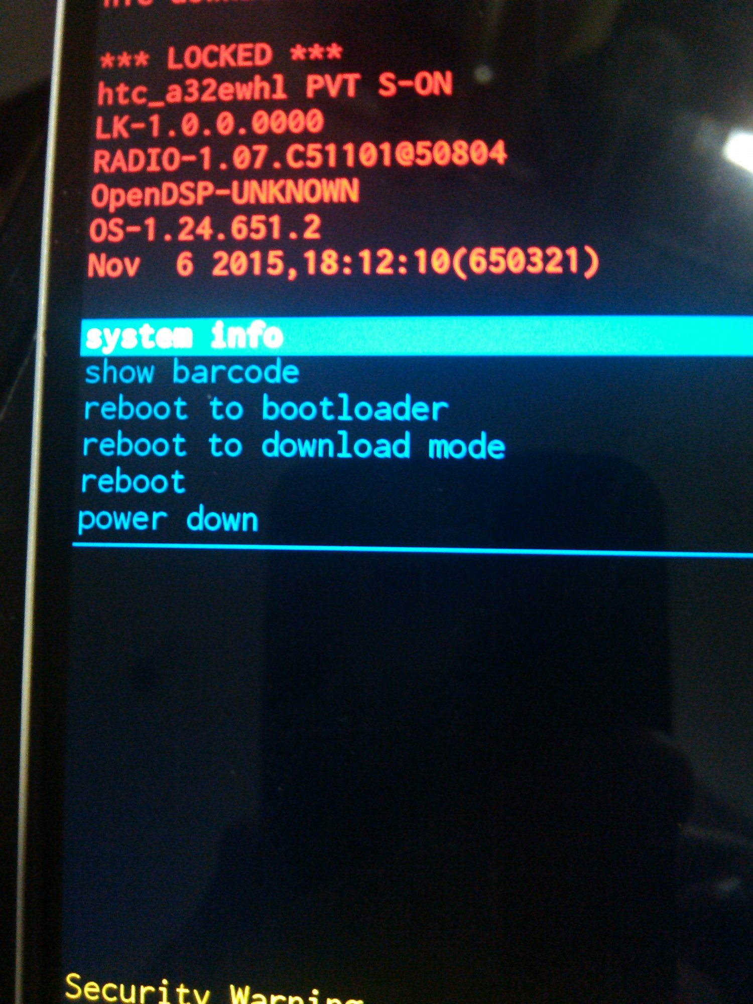 I need some help unlocking the bootloader for my HTC