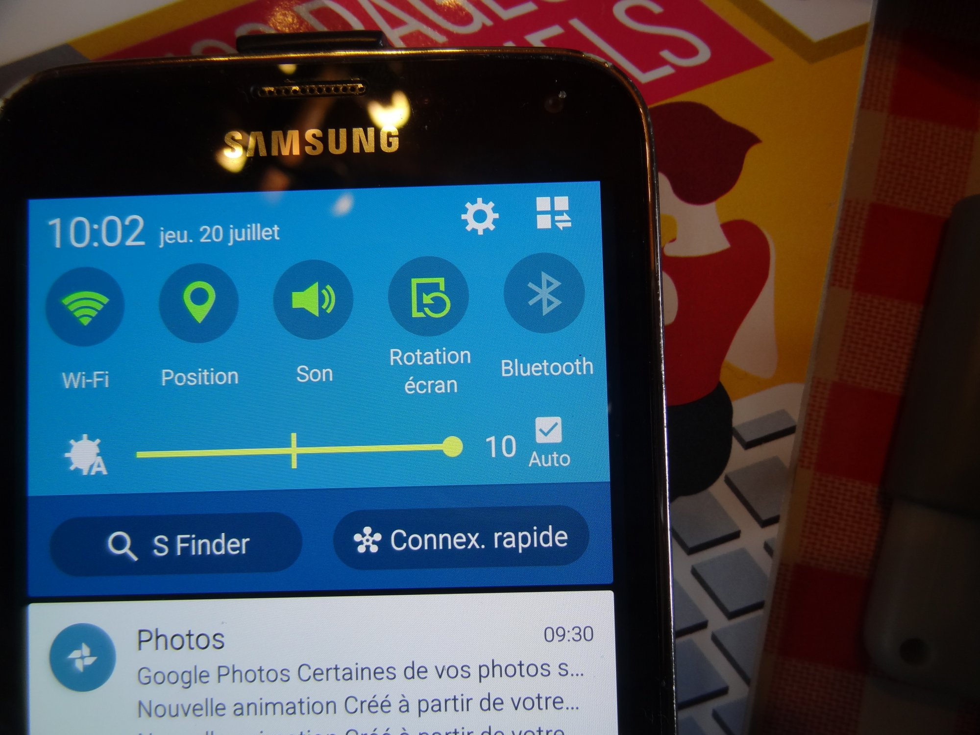 Is my positionning or gyro device broken ? - Samsung Galaxy