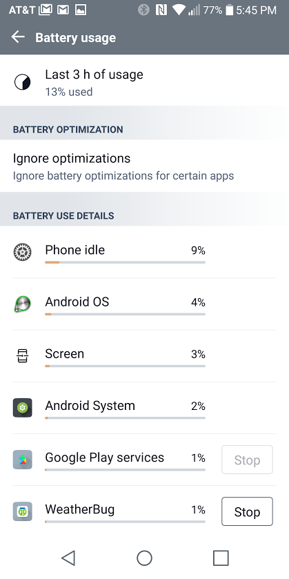 Battery life no good anymore - LG G6 | Android Forums