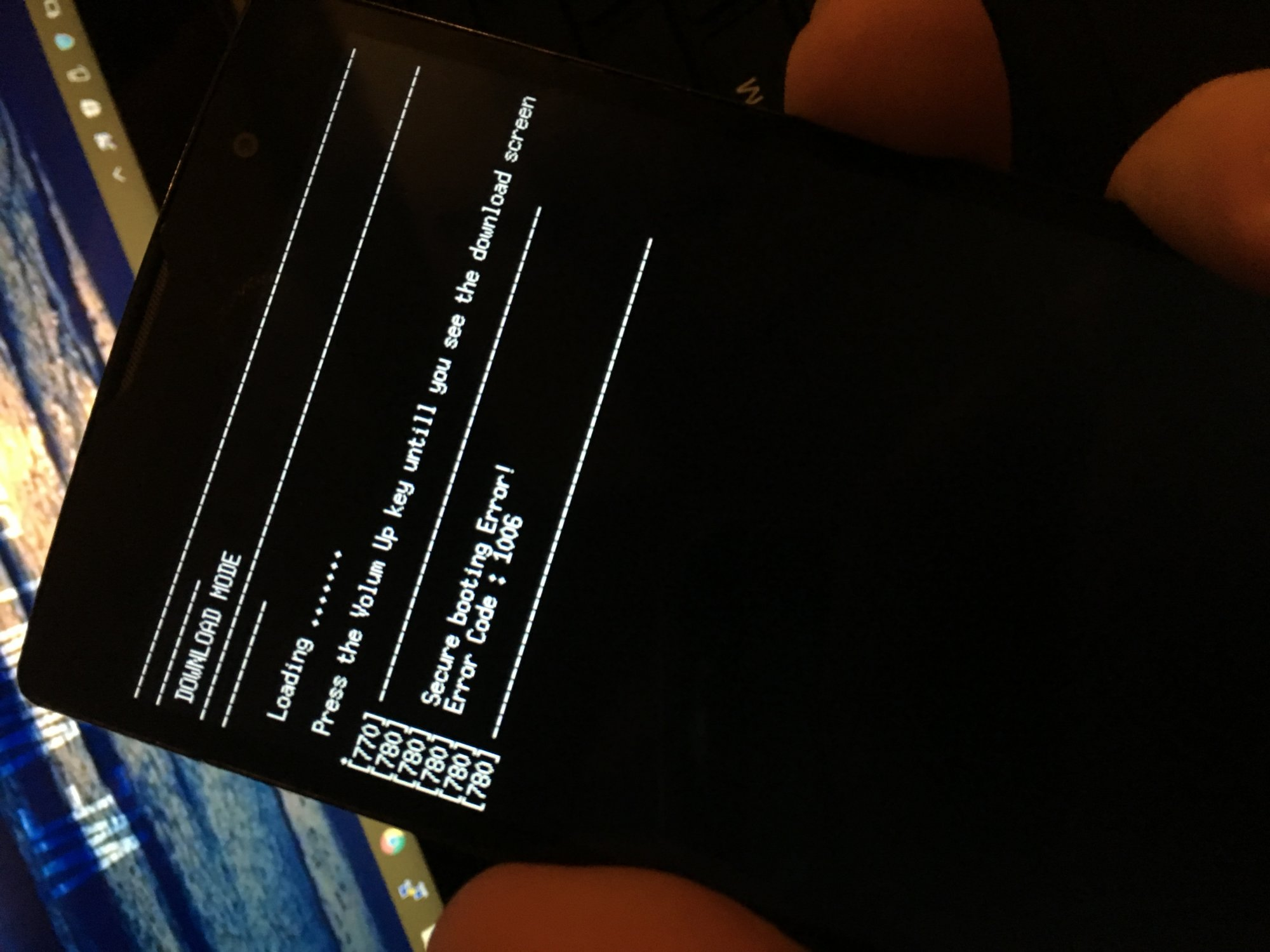 Bricked? - LG Volt 2 | Android Forums