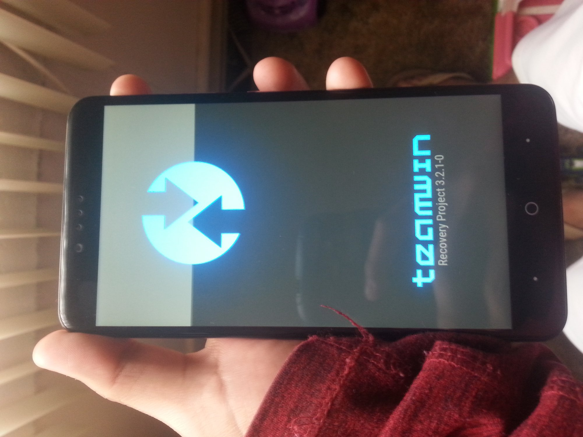 TWRP-3 2 1-0 URD - ZTE Zmax Pro | Android Forums