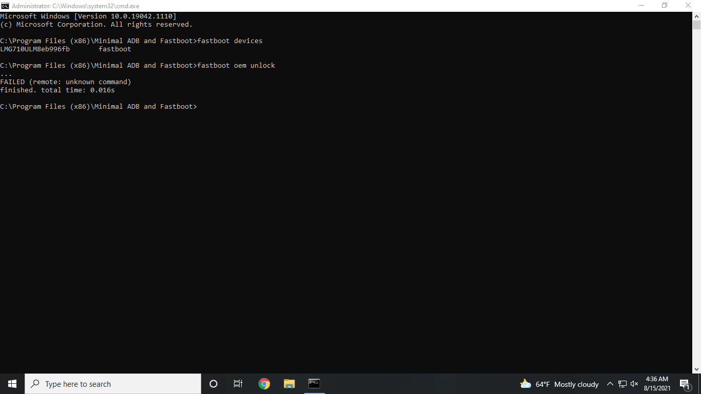 Minimal_ADB_Fastboot Application Opened in Administrator Mode.png
