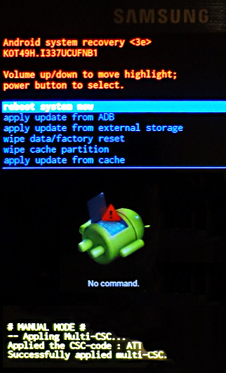 How to tell if I have CWM or TWRP installed on AT&T S4? - Samsung