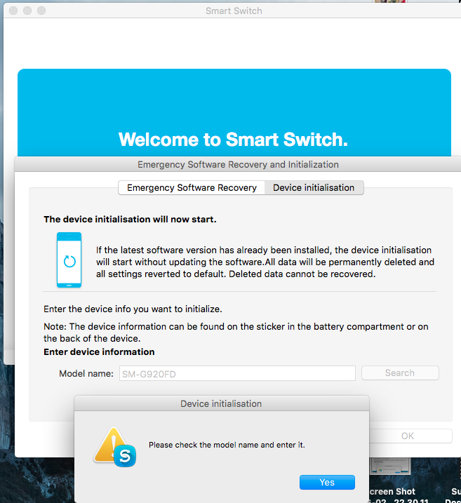 🏆 Emergency recovery function in the smart switch pc