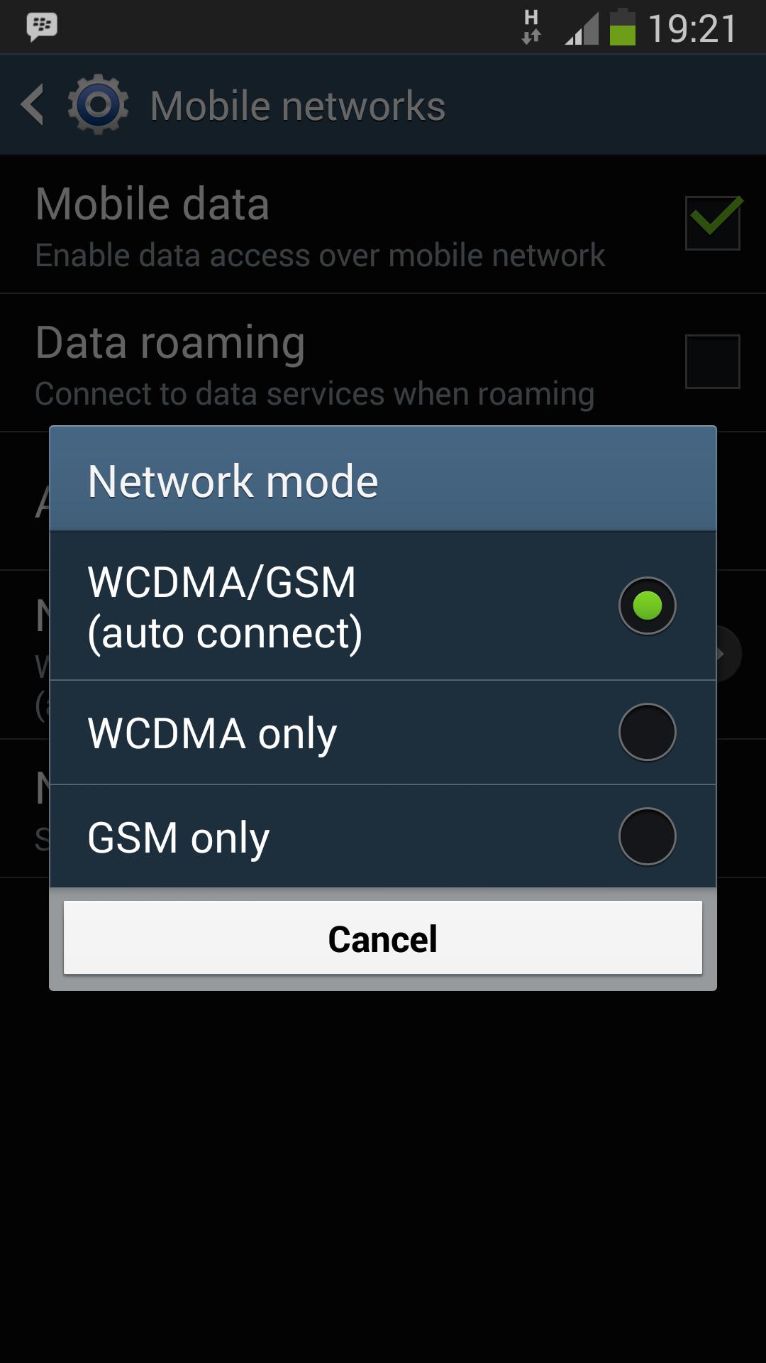 No 4G LTE network option in Samsung S4 I9506 - Samsung Galaxy S4