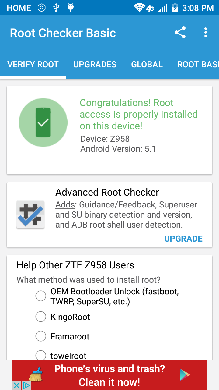 ZTE ZMAX 2: Root - Android Devices | Android Forums