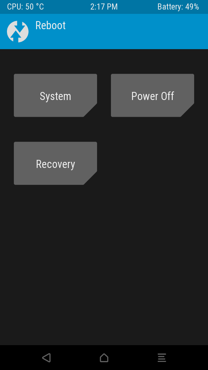 TWRP 3 0 3 - ZTE Zmax | Android Forums