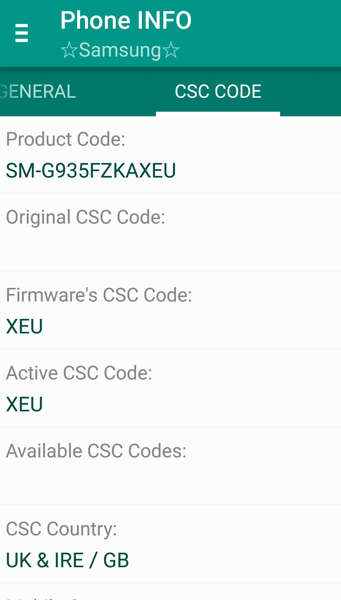 Csc query  - Samsung Galaxy S7 Edge | Android Forums