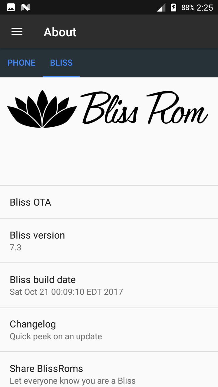 ROM][Official]BlissROM v7 3 for Warp Sync N9515 - ZTE Warp