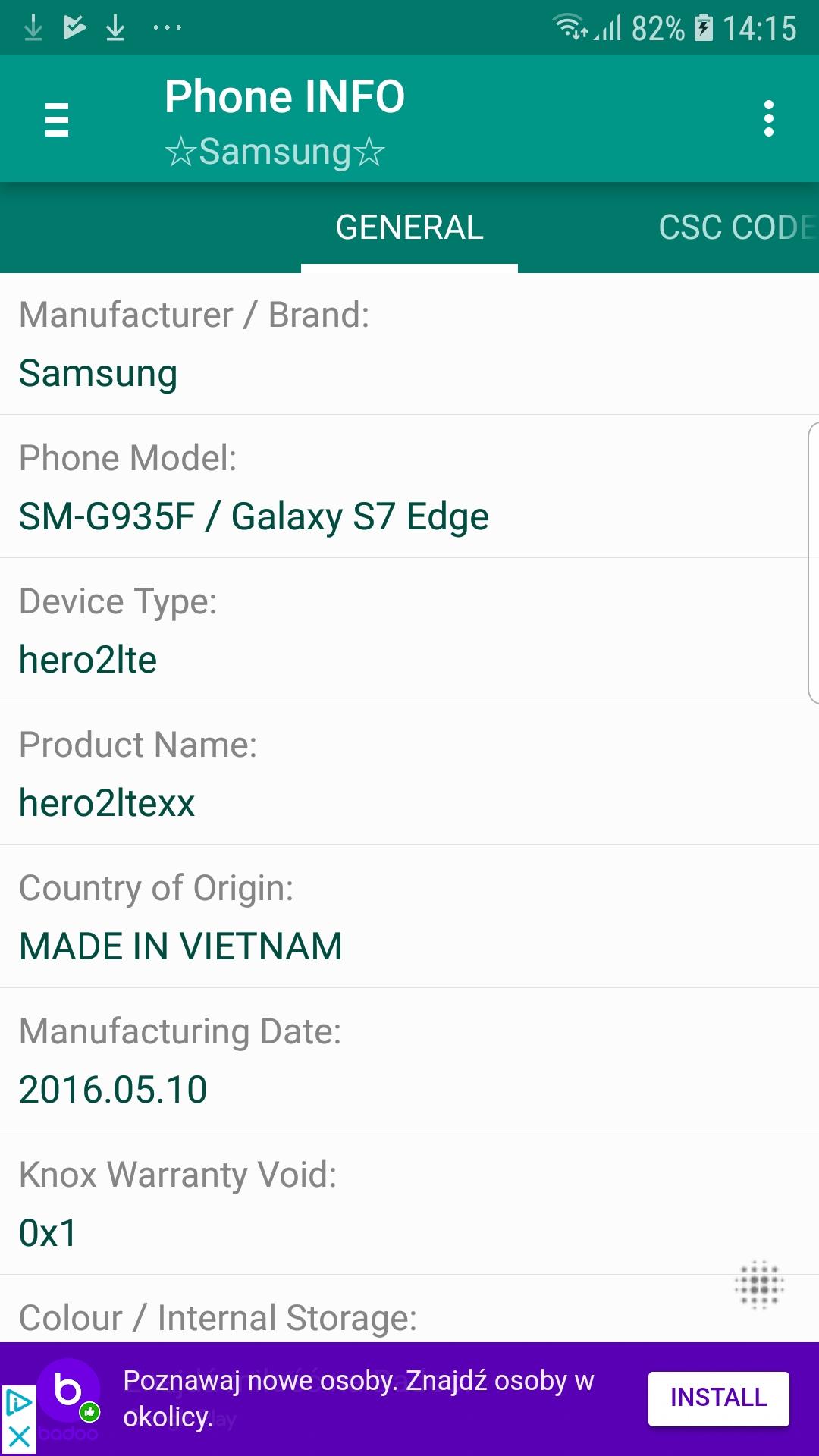 Galaxy S7 Edge return to full stock - Samsung Galaxy S7 Edge