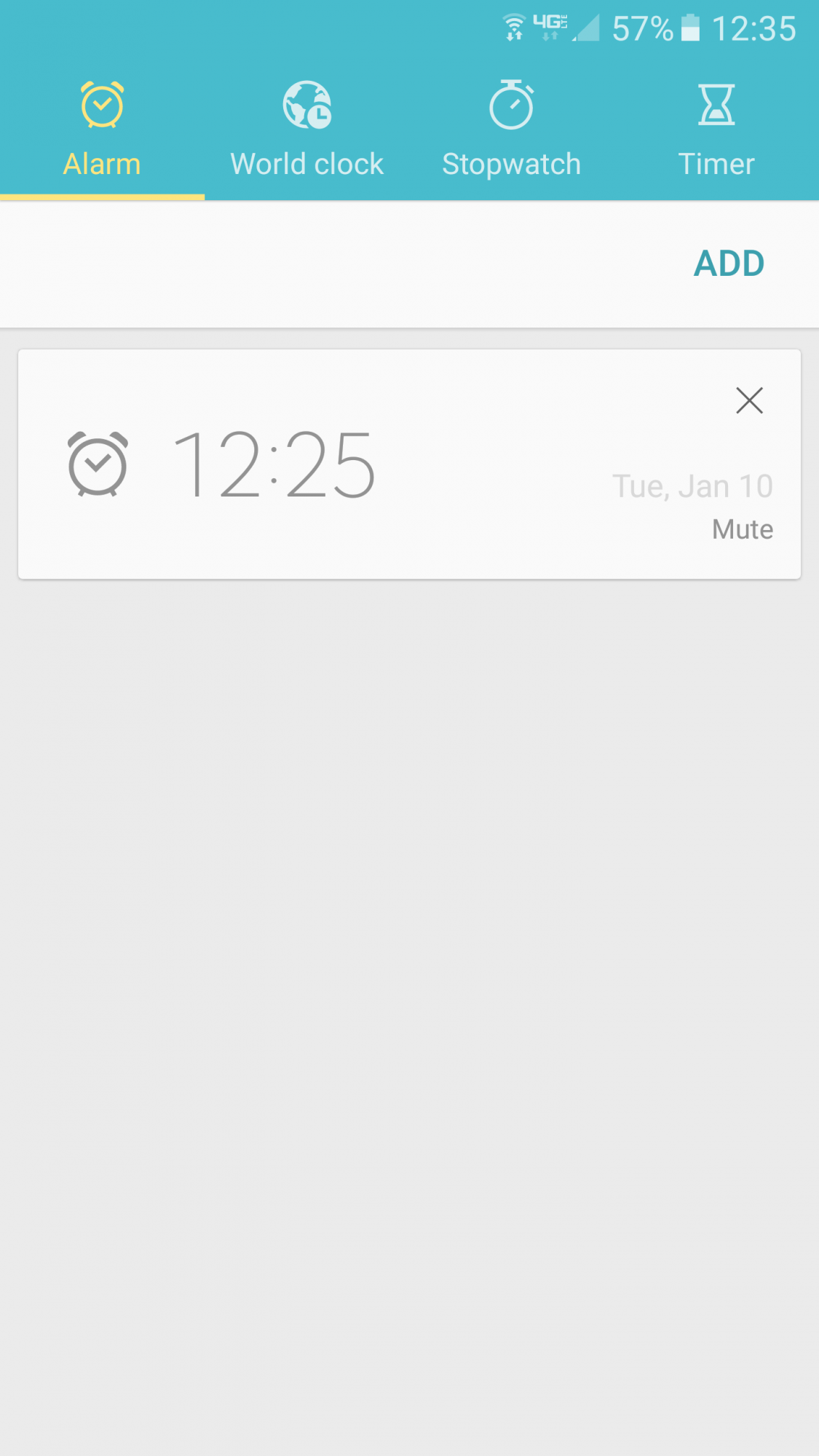 How do I delete an alarm on my S7? (android 6 01) - Samsung