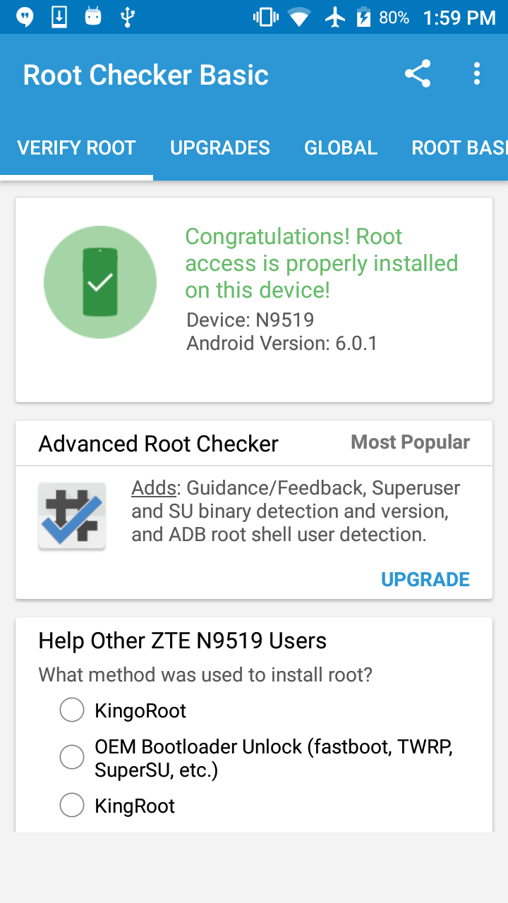 Zte][warp7]Permroot[kingroot] - ZTE Warp 7 | Android Forums